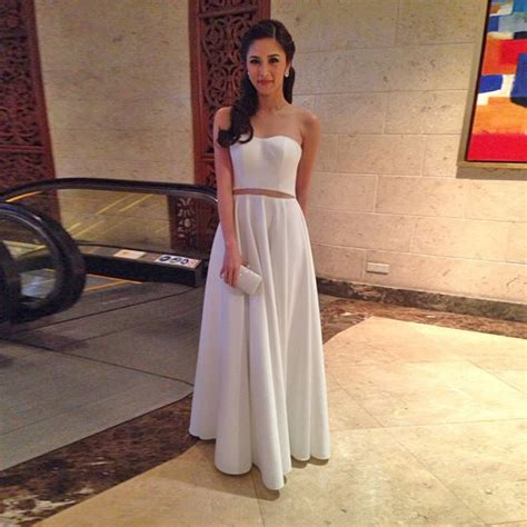 julia barretto gown celebrities we spotted at julia barretto s debut preview