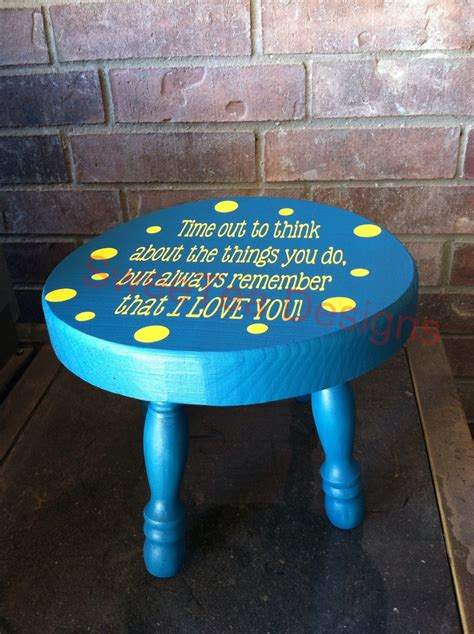 time out stool time out stool kids pinterest