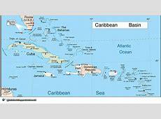 Caribbean Basin Map
