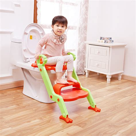 large size children toilet seats folding potty chair