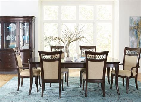 havertys dining table set dining rooms astor park china cabinet dining rooms