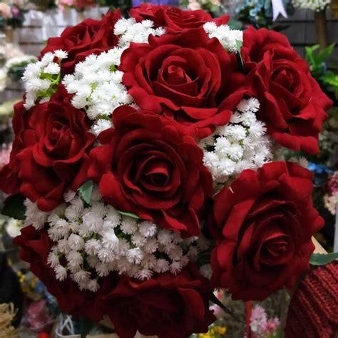 2018 Real Images Artificial Red Rose Wedding Bouquet. Worn Engagement Rings. Gunmetal Rings. Jacket Engagement Rings. Princesa Engagement Rings. Table Rings. Peach Pink Engagement Rings. Lavender Wedding Wedding Rings. Modeling Rings