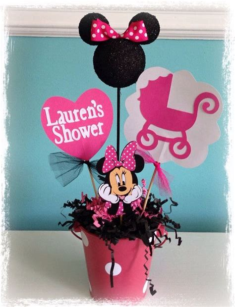 minnie mouse baby shower decorations ideas minnie mouse baby shower decoration on etsy 13 50