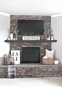 best 25 tv over fireplace ideas on pinterest tv above With spice up your corner fireplace