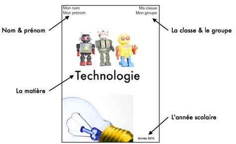 lorganisation du classeur sciences technologie