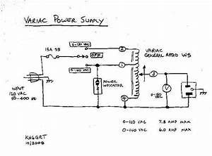 Variac Power Supply Schematic