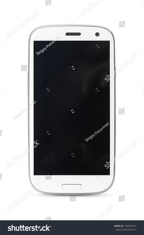modern smartphone modern touch screen smartphone isolated on stock photo