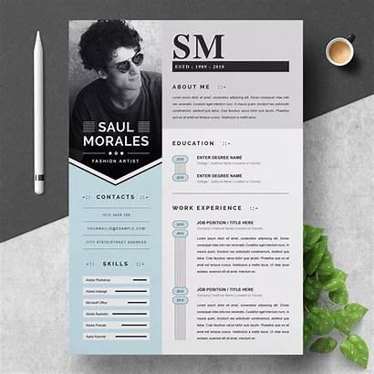 Resume Creative Template Cv Modern Templates Word