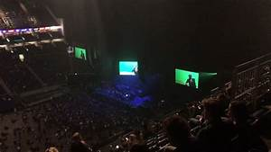 London O2 Arena View from Block 418 Row S Seat 883 - YouTube