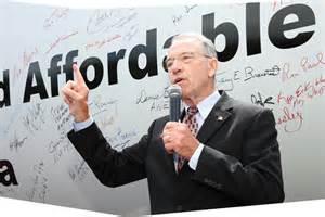 Iowa Senator Chuck Grassley