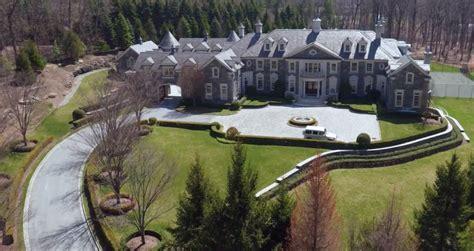 stone mansion alpine nj listed million homes rich