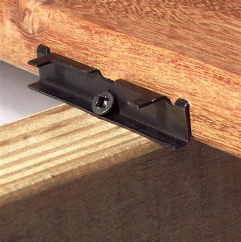 hidden deck fasteners  pressure treated lumber home