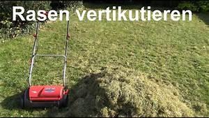 Rasen Vertikutieren Wann : rasen vertikutieren wann und wie rasen vertikutieren bel ften youtube ~ Eleganceandgraceweddings.com Haus und Dekorationen
