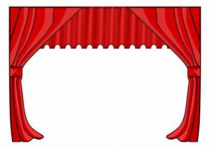 Theatre Clipart Border Hollywood Clip Teater Bilde