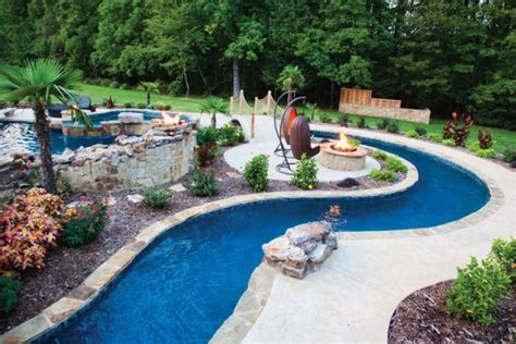 Backyard Pool With Lazy River by Project Highlight Lazy River Pool Luxury Pools