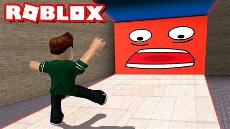 cuidado  la pared en roblox  crushed