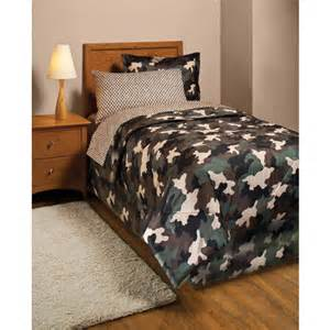 camouflage bed in a bag bedding set bedding walmart com