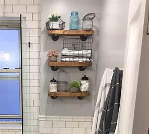 40, Bathroom, Shelf, Ideas, You, Can, Build, Yourself