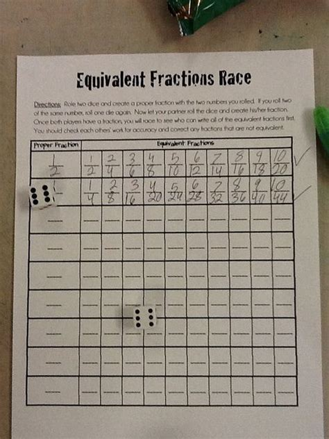 Best 25+ Equivalent Fractions Ideas On Pinterest
