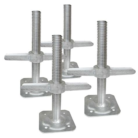 Metaltech Leveling Jacks for 6 ft. Scaffold | The Home ...