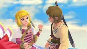 The Legend of Zelda Skyward Sword: Link & Zelda Romantic ...