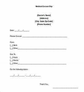 Doctors Note Template  9+ Free Sample, Examples & Format Free & Premium Templates