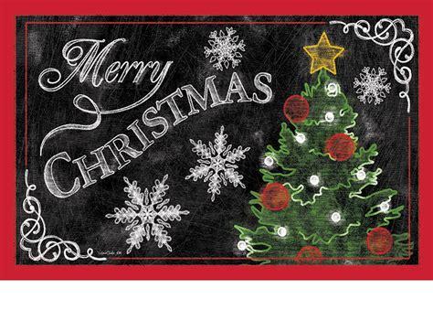 Merry Doormat by Indoor Outdoor Merry Tree Insert Doormat