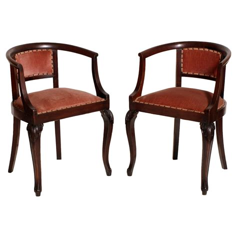 Sedia Liberty by Antique Liberty Pair Of Chairs Poltroncine Coppia Sedie
