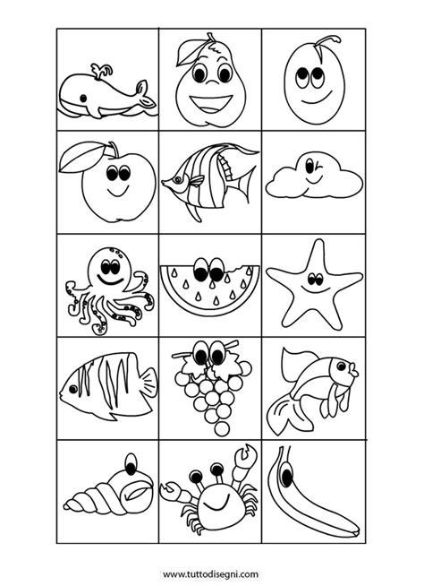 memory animali da stare e colorare contrassegni da colorare eg86 pineglen