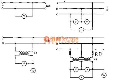 Voltage Meter Wiring Method Circuit Basic