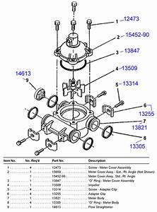 Fleck 1500 And 2500 Valve Parts