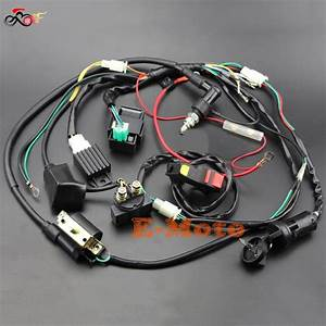 Full Wiring Harness Loom Solenoid Coil Regulator C7hsa