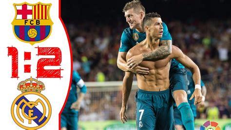FC Barcelona vs Real Madrid - All Goals & Highlights ...