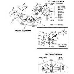 swisher mower belt diagram belt image  picture