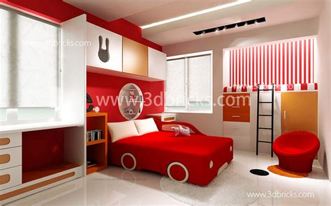 Bedroom Decorating Ideas For 3 Year Boy by Architects In Trivandrum 3d Bricks Studies