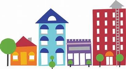 Community Clipart Local Neighborhood Assessment Building Transparent