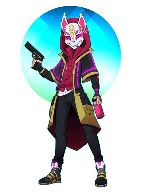 fortnite drift  httpswwwdeviantartcomsapphire