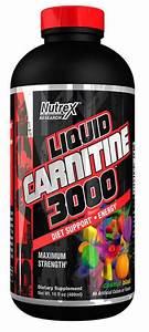 Nutrex Research Liquid Carnitine 3000 Black