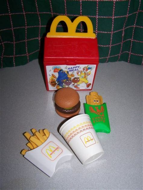 Vintage Fisher Price McDonald's Happy Meal Box Pretend