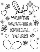 Easter Coloring Printable Eggs Special Re Tra sketch template