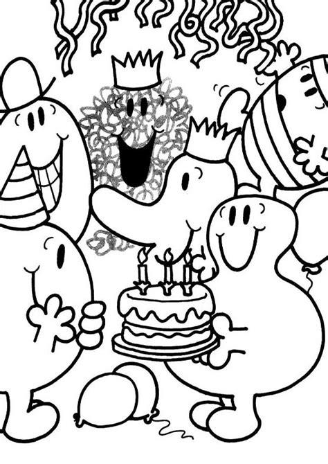 chambre minnie mouse coloriage a imprimer monsieur heureux fete