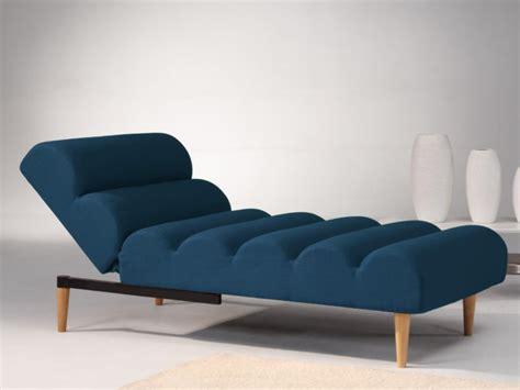 canape convertible meridienne méridienne convertible en tissu bleu ou cival