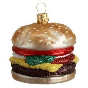 burger ornament burger fun pinterest