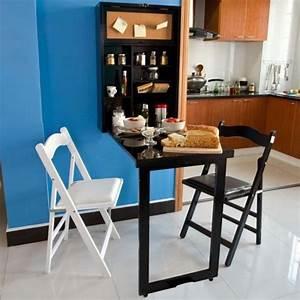 Küchentisch Mit Regal : wandschrank memoboard und einer tafel auf der r ckwand wandklapptisch mit integriertem regal ~ Orissabook.com Haus und Dekorationen
