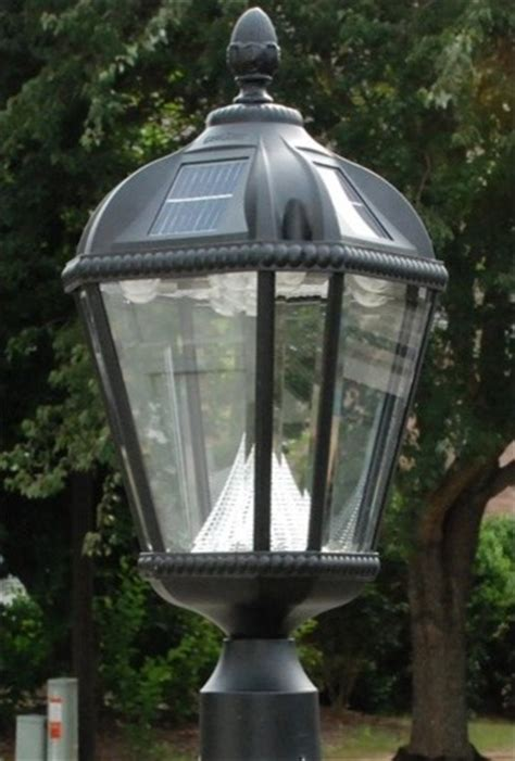 royal solar post lantern light modern outdoor