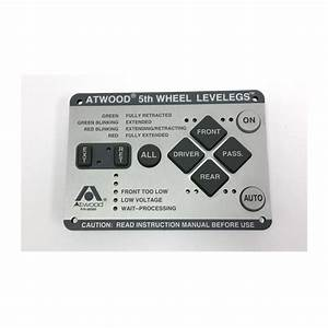 Atwood 66930 Level Leg Control Pad For 5th Wheels