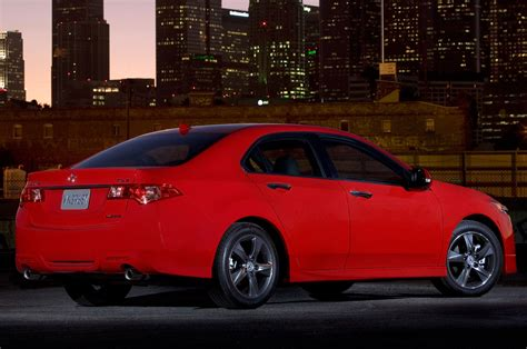 2014 Acura Tsx Special Edition Rear Side View Photo 4