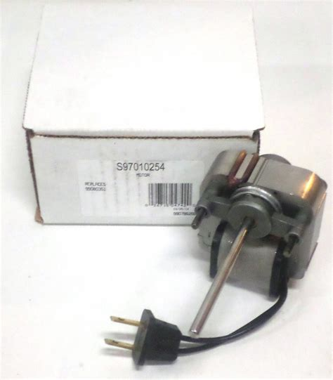 nutone bath fan replacement motor 97010254 broan nutone vent bath fan motor for models