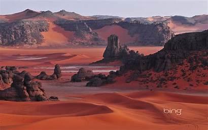 Bing Daily Wallpapers Algeria National Park Tassili