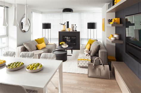 Gray And Yellow Kitchen Ideas - salas pequenas 41 fotos de salas decoradas arquidicas